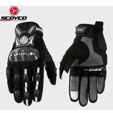 Scoyco Motorcycle Motocross Street Dirt Bike ATV Summer Gloves Full Finger Adult