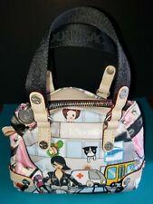 ULTRA RARE! tokidoki LeSportsac Citta Rosa Bocce Mini Clutch Purse Hand Bag-NWOT