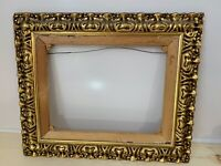 "VINTAGE GOLD GILDED PAINTING FRAME AND STRETCHER | 25""W X 21""H 