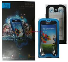 LifeProof FRE Waterproof Case for Samsung Galaxy S4 Cyan & Black, 1802-04