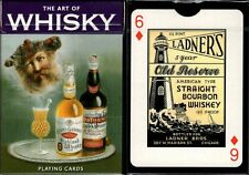 The Art of Whisky Playing Cards Poker Size Deck Piatnik Custom Limited Sealed