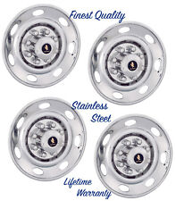 "16"" FORD E250 E350 F250 F350 WHEEL HUBCAP COVERS FOR SINGLE WHEELS SET OF 4 ©"