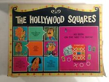 The Hollywood Squares NBC TV Show 1967 Board Game #4840 gm580