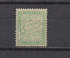 France : Timbre taxe n° 30 a (type Duval 15 c. vert-jaune GC). **. Cote 65 €.