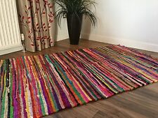 ❤️ FAIR TRADE BELL TENT YURT CAMPING GLAMPING FESTIVAL RAG RUGS INC EXTRA LARGE