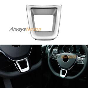 Interior Steering Wheel Cover Trim For VW Volkswagen Transporter T6 2017-2020
