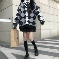 Japanese Harajuku Preppy Style Vintage Sweet Lolita Knitwear Sweater Coat Tops