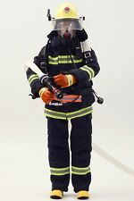 1:6 CHINA FIREMAN DOLL Equipped with firefighting equipment