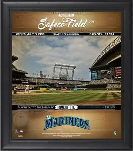 Mariners Framed 15x17 Welcome to the Ballpark Collage - Fanatics