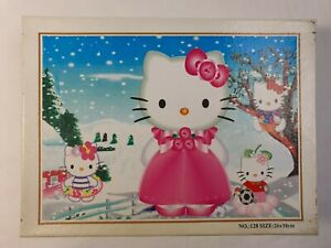 White Cats Cartoon Jigsaw Puzzle 300pc 26x38cm