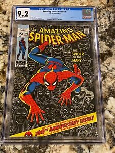 AMAZING SPIDER-MAN #100 CGC 9.2 WHITE PAGES ANNIVERSARY ISSUE SUPER HIGH END KEY