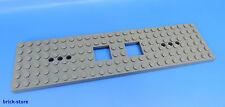 LEGO ® NR - 6077826/6x24 vagone ferroviario PIASTRA Grigio Scuro/1 pezzi