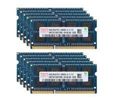 Lote Hynix 10pcs 4GB 2RX8 DDR3 1333MHz PC3-10600S 204PIN Sodimm Memória Ram Notebook