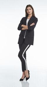 ORANDESIGNE Damen Blazer Elegant Mantel Lang Blazer Slim Fit Blazer Freizeit Business B/üro Anzug Jacken