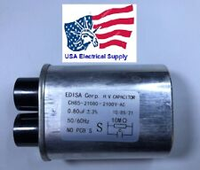 Microwave Oven H.V. High Voltage Capacitor Model: CH85-21080 2100VAC 0,80uF