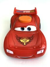 Disney Cars Lightning McQueen Fisher Price Light up and talks Works
