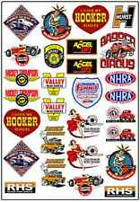1/64, 1/87 - DECALS FOR HOT WHEELS, MATCHBOX, SLOT CAR: GASSER (I)