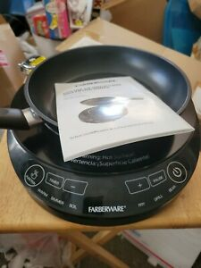 Farberware Mc-Stw1316 Induction Cooktop Burner - Tested with Frying Pan