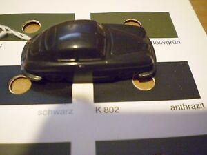 #O Wiking Porsche 356 160/2 L  Black Rare   356 pre A Split Window unverglast