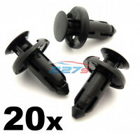 20x 8mm Plastic Trim Clips for Sill Covers, Side Skirts & Sill Trims for Honda