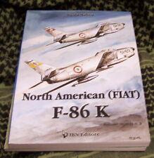 F-86K SABRE NORTH AMERICAN (FIAT) - AVIOLIBRI #3 Dual Eng/Italian captions