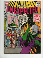 "Tales of the Unexpected #25 1958 HIGH GRADE VF- 7.5 GLOSSY! 1 ""Wanted Alien"" Cov"
