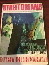 Street Dreams 2010 DVD star media Paul Rodriguez skateboarding movie very rare!