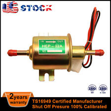 12 Volts 2.5-4 PSI Universal Electronic Fuel Pump for Carbureted Engine US Stock