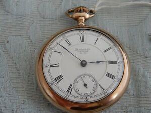 "Very fine large, working ""American Waltham Watch Co"" Railway Pocket watch"