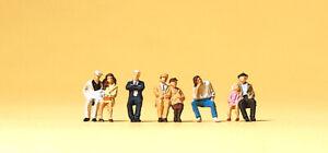Preiser 75024 Tt Gauge Figurines - Seated Passengers # New Original Packaging ##