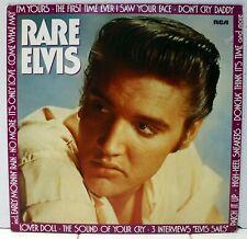 RARE ELVIS 1980 RCA German PL89003 BLACK LABEL LP COVER 1983  EXCELLENT