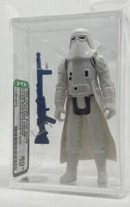 Kenner Star Wars Snowtrooper Hard Torso Scar COO AFA 80+ vintage NEW CASE STYLE