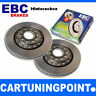 EBC Brake Discs Rear Axle Premium Disc for Porsche 944 D1239
