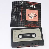 YES TWELVE INCHES ON TAPE 4 TRACK CASSETTE TAPE ALBUM 1984 CLASSIC ROCK WEA