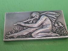Médaille / Broche Mélodie Georges Crouzat