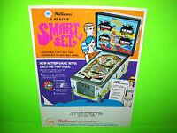 Williams SMART SET Original 1969 Flipper Game Pinball Machine Promo Sales Flyer