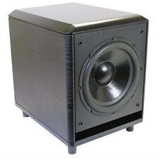 "Stellar Labs 50-16380 Active 10"" Home Theater Subwoofer - 120W RMS"