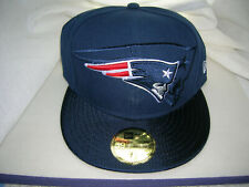 NEW ENGLAND PATRIOTS AUTHENTIC ON-FIELD 59FIFTY FITTED HAT CAP BY NEW ERA