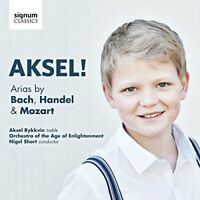 Aksel Rykkvin - AKSEL! Arias by Bach, Handel and Mozart [CD]