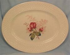 Copeland Spode Lady Anne Platter Oval Porcelain Flowers Mansard Vintage S2618