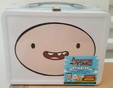 Adventure Time Tin Tote Lunch Box Exclusive Gift Set (Travel Mug/Tin/Coasters)