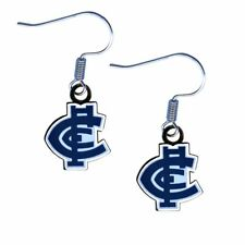 Carlton Blues AFL Team Logo Earrings Surgical Steel Hook Jewellery