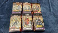 Marvel Legends ~ AVENGERS ACTION FIGURE SET w/CULL OBSIDIAN BAF COMPLETE