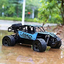 Remote Control Car RC Electric High Speed Offroad Monster Truck Waterproof Blue
