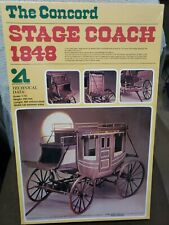 Artesania Latina The Concord Stage Coach 1986 Model Kit 1/10 Brand New #16004