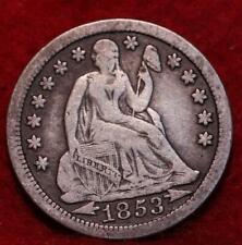 1853 Philadelphia Mint Silver Seated Liberty Dime