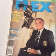 Flex Magazine Tom Platz Larry Scott October 1986 070517nonrh