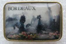 Pin's Ville de BORDEAUX avec animal des chevaux noirs cabrés #1104