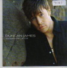 (BZ91) Duncan James, Sooner Or Later - 2006 DJ CD