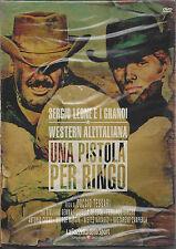 Dvd **UNA PISTOLA PER RINGO** Sergio Leone e i grandi Western all'italiana 1965